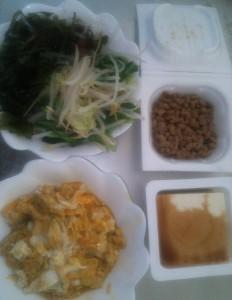 ライザップ6日目の昼食の画像