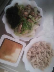 ライザップ9日目の昼食の画像