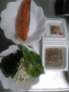 ライザップ11日目の夕食の画像