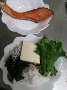 ライザップ23日目の夕食の画像