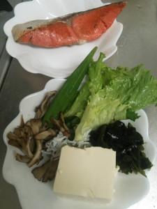 ライザップ24日目の夕食の画像
