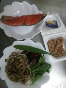 ライザップ25日目の夕食の画像
