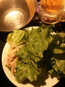 ライザップ27日目の夕食の画像2
