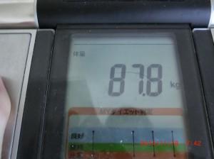 ライザップ31日目の体重の画像