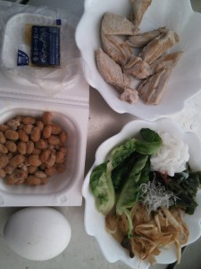 ライザップ31日目の昼食の画像