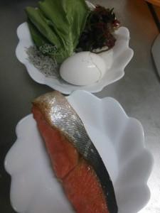 ライザップ33日目の夕食の画像