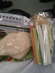 ライザップ37日目の昼食の画像