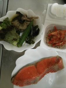 ライザップ40日目の夕食の画像