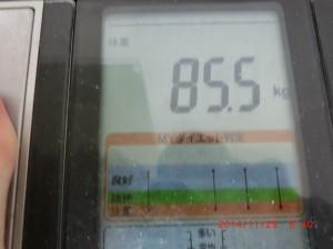 ライザップ42日目の体重の画像