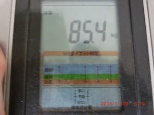 ライザップ43日目の体重の画像