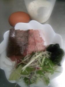 ライザップ44日目の朝食の画像