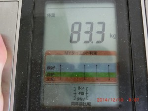 ライザップ53日目の体重の画像