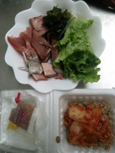 ライザップ53日目の昼食の画像