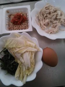 ライザップ61日目の昼食の画像