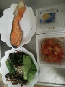 ライザップ48日目の夕食の画像