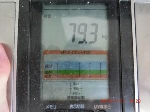 ライザップ85日目の体重の画像