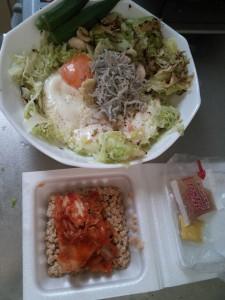ライザップ87日目の昼食の画像