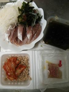 ライザップ87日目の夕食の画像
