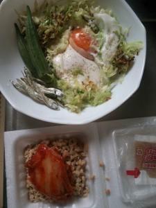 ライザップ76日目の朝食の画像