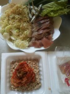 ライザップ76日目の昼食の画像